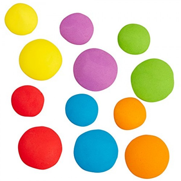 Wilton Bright Dots Icing Cake Decorations, 24-Count Edible Cake ...