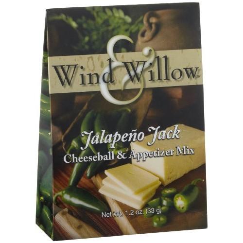 Wind & Willow Jalapeno Jack Cheeseball & Appetizer Mix, 1.2-Ounc...