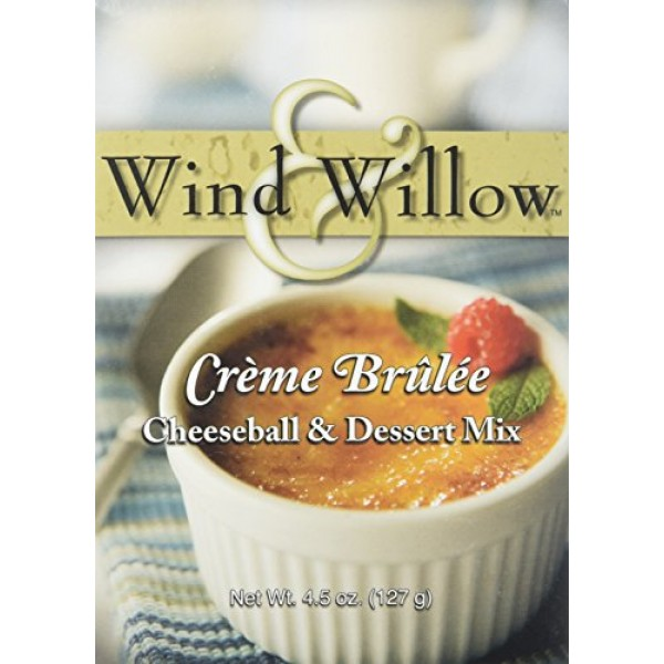 Wind and Willow Creme Brulee Cheeseball & Dessert Mix - 4.5 Ounc...