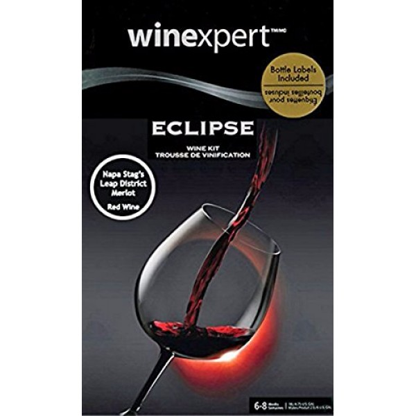 Winexpert Eclipse Napa Valley Stags Leap District Merlot with ...