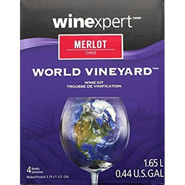 Winexpert B00WUYT3QG FBA_Does Not Apply Chilean Merlot One Gallo...