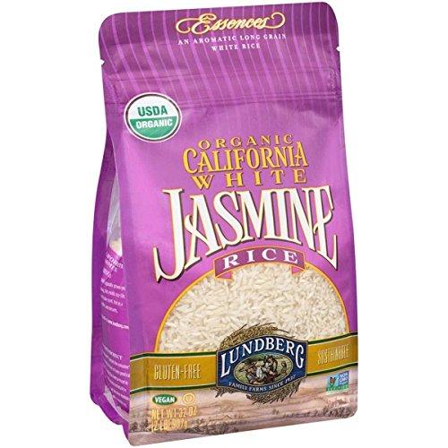 Lundberg Family Farms, Rice, Og1, Jasmine, White, Pack of 6, Siz...