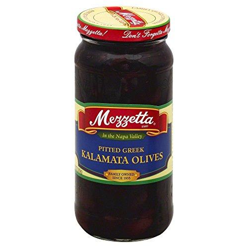Mezzetta Pitted Greek Kalamata Olives 6x 9.5Oz