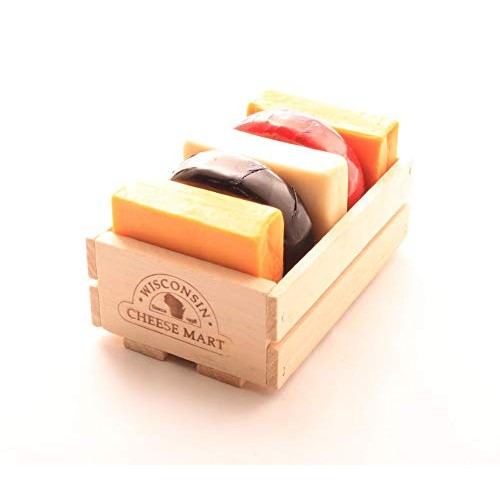 Nibbler Gift Crate by Wisconsin Cheese Mart