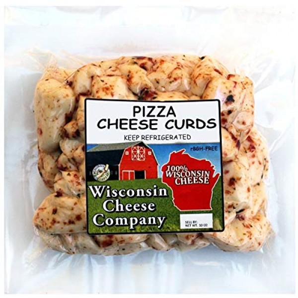 Wisconsin Cheese Company Famous Pizza Cheese Cheese Curds 1.5lbs...