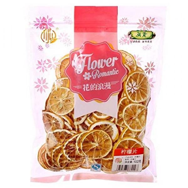 Dry Lemon Slices Fruits Tea Chinese Flora Herbal Tea 102g