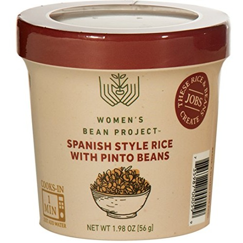 Womens Bean Project Instant Spanish Style Rice and Pinto Beans ...