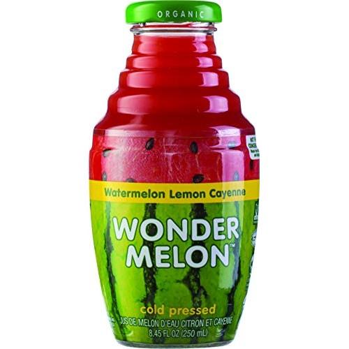 Wonder Melon Organic Watermelon Juice with Lemon & Cayenne, 8.45...