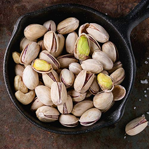 Wonderful Pistachios, No Shells, Roasted and Lightly Salted, 6 O...