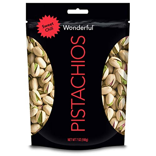 Wonderful Pistachios, Sweet Chili Flavored, 7 Ounce Resealable P...