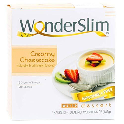 WonderSlim Low-Carb High Protein Diet Creamy Cheesecake (7 Servi...