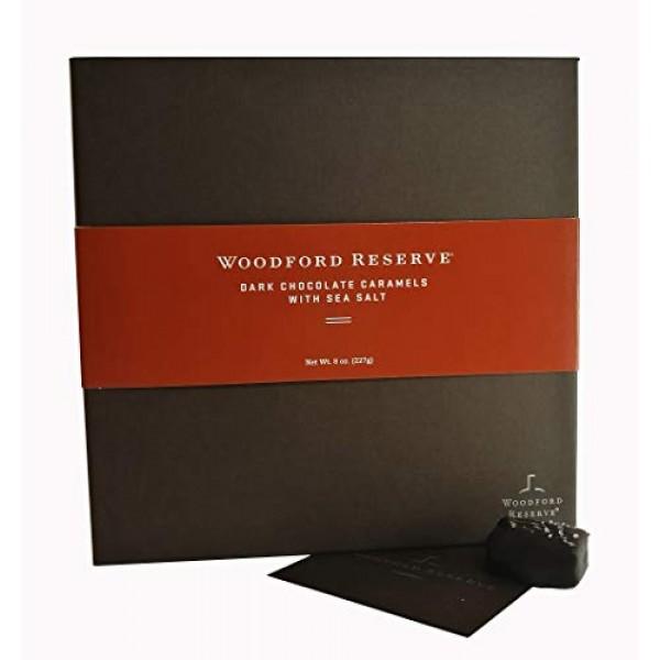 Woodford Reserve Premium Bourbon Dark Chocolate Caramels with Se...