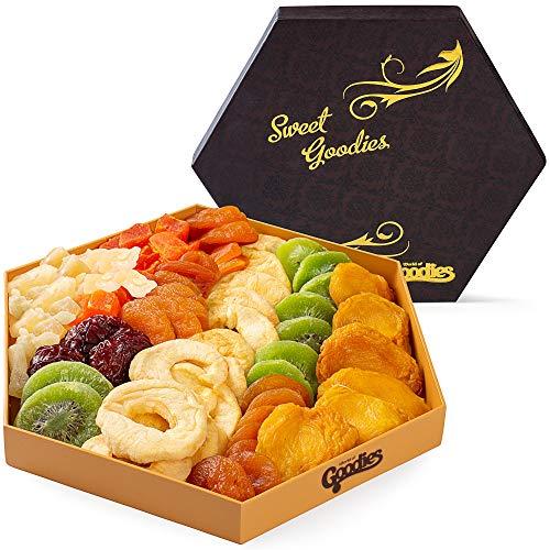 Gourmet Dried Fruit Gift Basket Fresh, Healthy food Snacks for F...