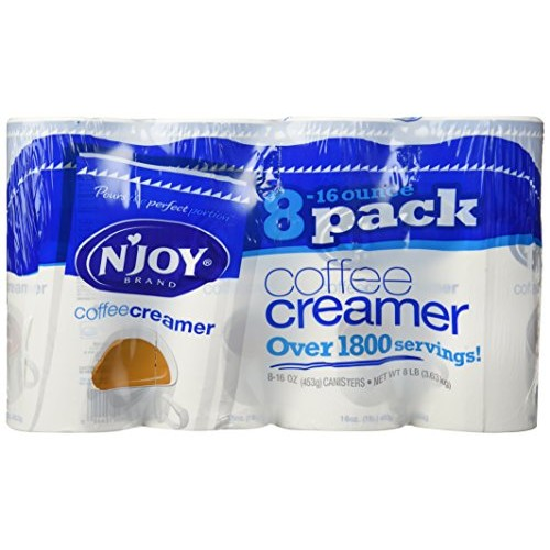 NJOY Coffee Creamer - 8/16oz Canisters