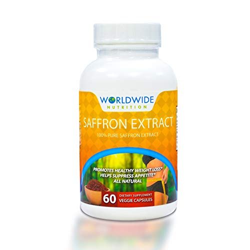 Worldwide Nutrition 100 Percent Pure Saffron Extract Dietary