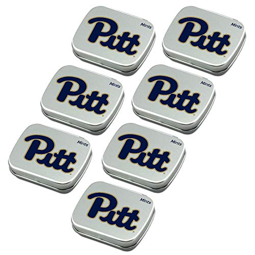 Worthy Promo NCAA Pittsburgh Panthers Peppermint Candy Tins 7-Pa...