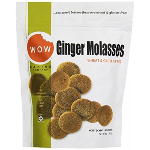 Wow Baking Gluten Free Ginger Molasses, 8 oz