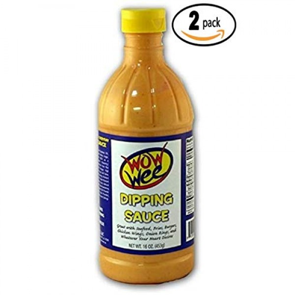 Wow Wee Dipping Sauce, 16 oz Pack Of 2