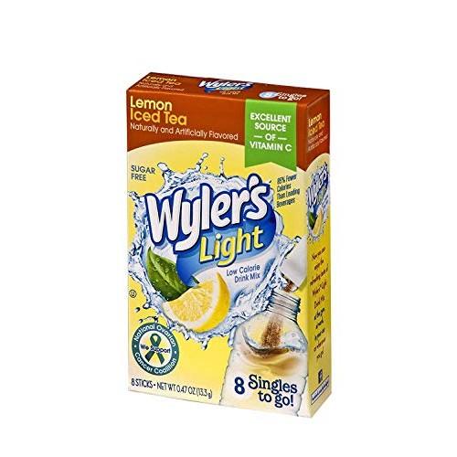 Wyler's Light Singles-To-Go Sugar Free Drink Mix, Lemon Iced Tea...