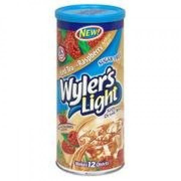 Wylers Light Soft Drink Mix - Iced Tea with Raspberry