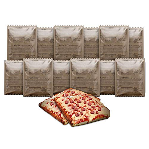 MRE Pizza Slice with Delicious Mozzarella Cheese and Pepperoni 3...