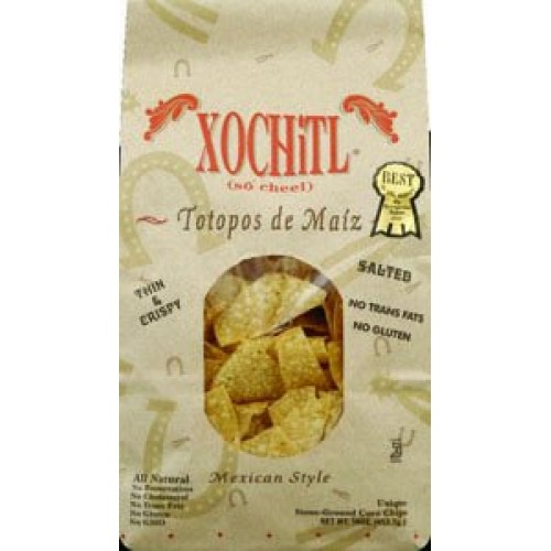 Xochitl Corn Chips Salted, 16-Ounce Bags Pack of 9