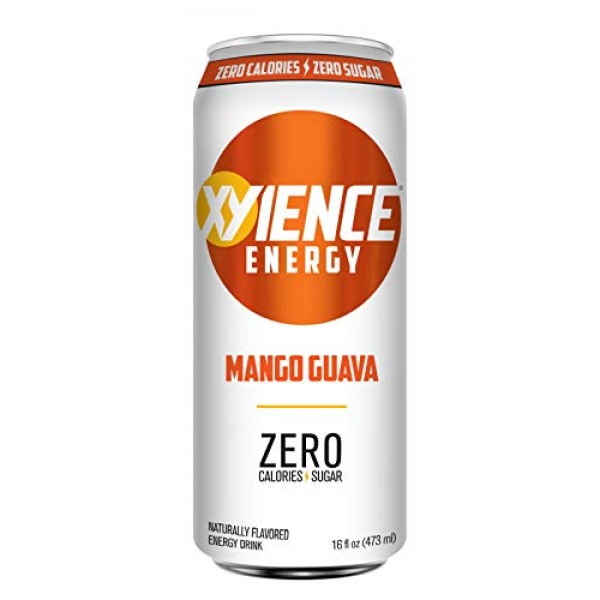 XYIENCE Energy Drink | Mango Guava | Sugar Free | Zero Calories ...