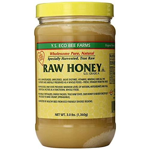 YS Eco Bee Farms RAW HONEY - Raw, Unfiltered, Unpasteurized - Ko...