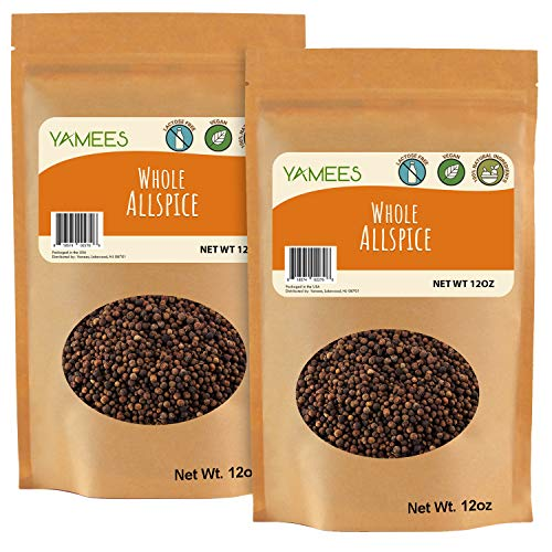 Yamees Allspice - Allspice Berries Whole - Jamaican Pimento - Bu...