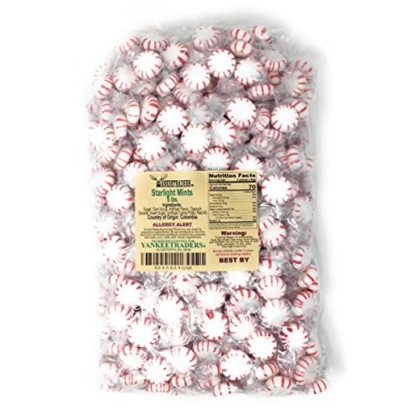 Washburns Starlight Peppermints - 5 Lbs