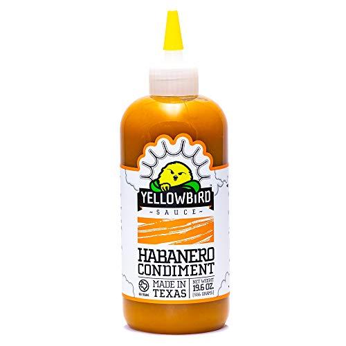 Habanero Hot Sauce by Yellowbird | Plant-Based, Gluten Free, Non...