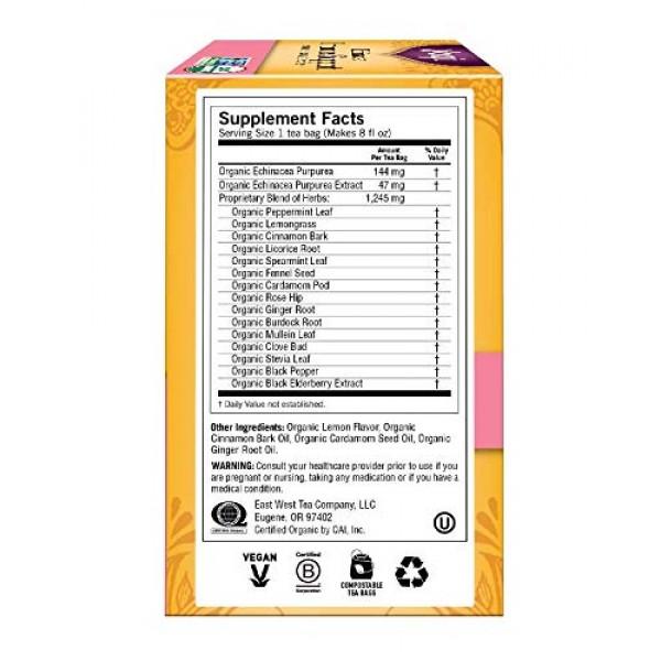 Yogi Tea - Echinacea Immune Support 4 Pack - Supports Immune F...