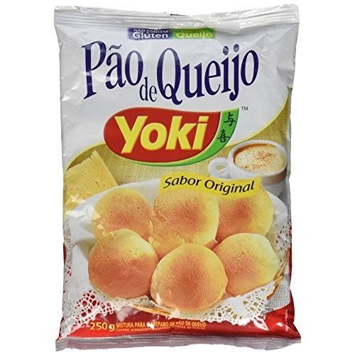 Yoki - Cheese Bread Mix - 8.82 Oz PACK OF 04 | Mistura p/ Pão ...