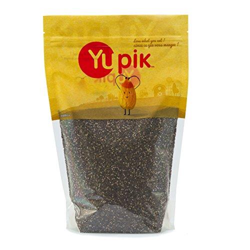 Yupik Chia Seeds, Natural Black, 2.2 lb