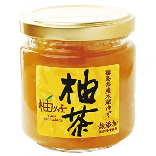 100% Natural Yuzu Marmalade 7.1 oz.200g. Ingredients are Yuzu ...