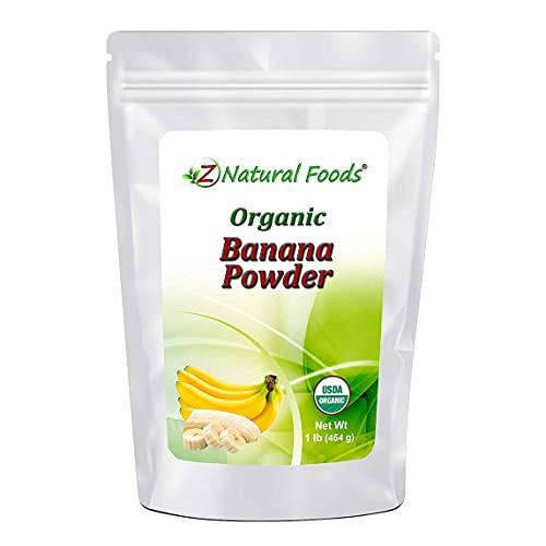 Organic Banana Powder - Fruit Supplement For Smoothies, Desserts...