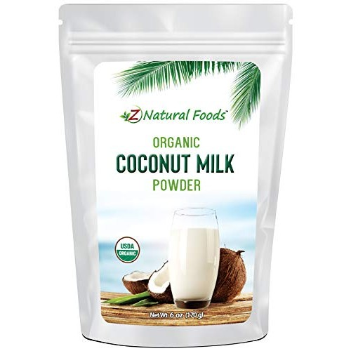 Z Natural Foods Organic Coconut Milk Powder - All Natural Creame...