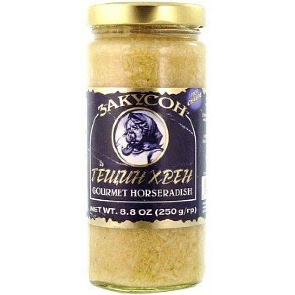 Zakuson Gourmet Horseradish 8.8 oz / 250 g