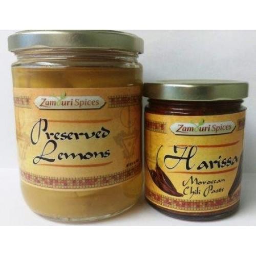 Preserved Lemons & Harissa Paste Set