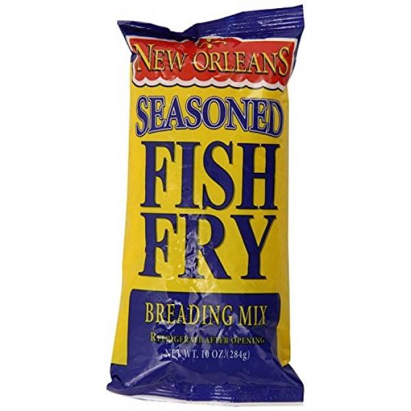 Zatarains breading fish fry seasnd 10oz