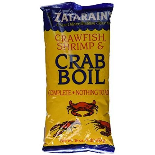 Zatarains Crawfish, Shrimp & Crab Boil 16 Oz.
