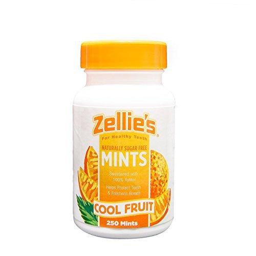 Zellies, Mints Cool Fruit, 250 Count
