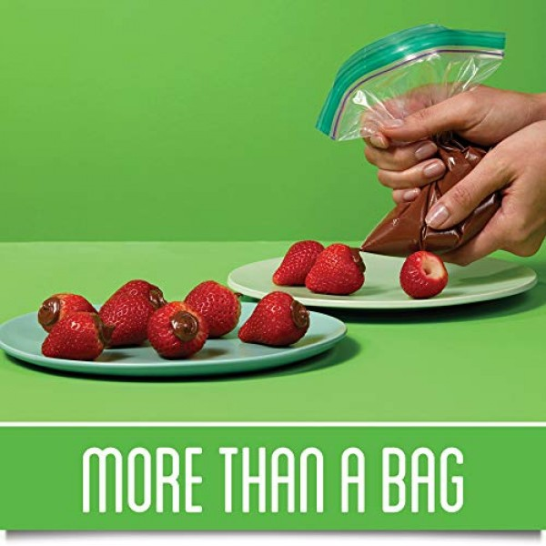 Ziploc Snack Bags with New Grip n Seal Technology, Ideal for Pa...