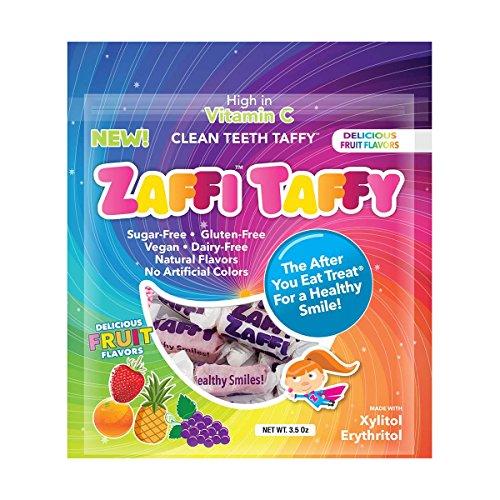 Zollipops Clean Teeth Taffy | Anti-Cavity Candy, Sugar Free Taff...