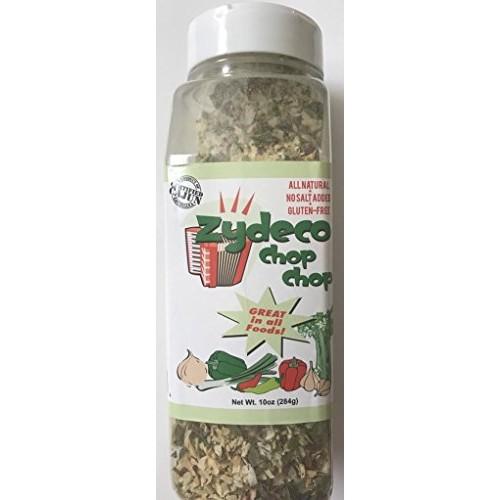 Zydeco Chop Chop Cajun Seasoning Base, 10 Ounce Shaker