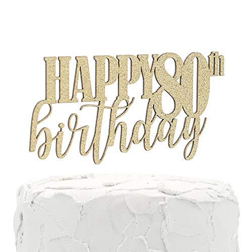 NANASUKO 80th Birthday Cake Topper