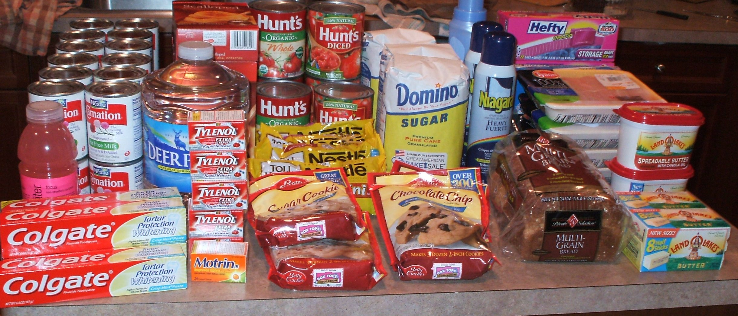 Stockpiling Groceries