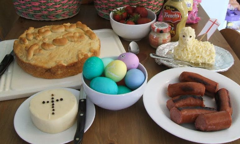 Traditional Easter Meal