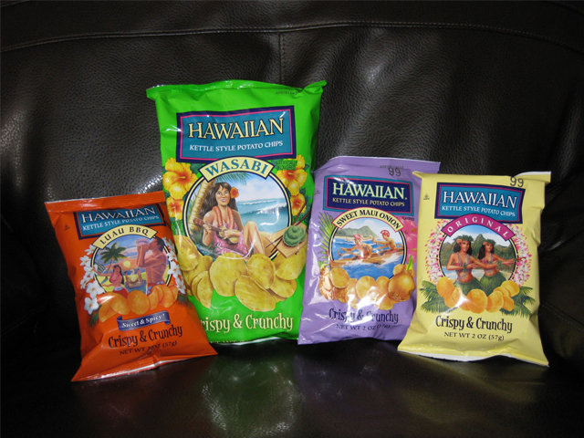 Hawaiian Snacks