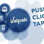 Valpak push click tap